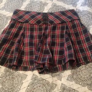 Cute little plaid skirt from Hot Topic